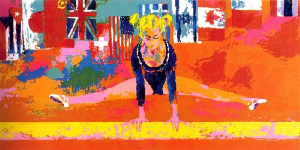 LeRoy Neiman - Olympic Gymnast