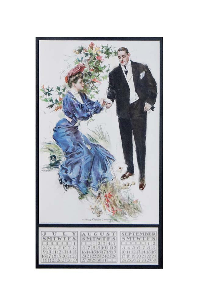 Howard Chandler Christy calendar