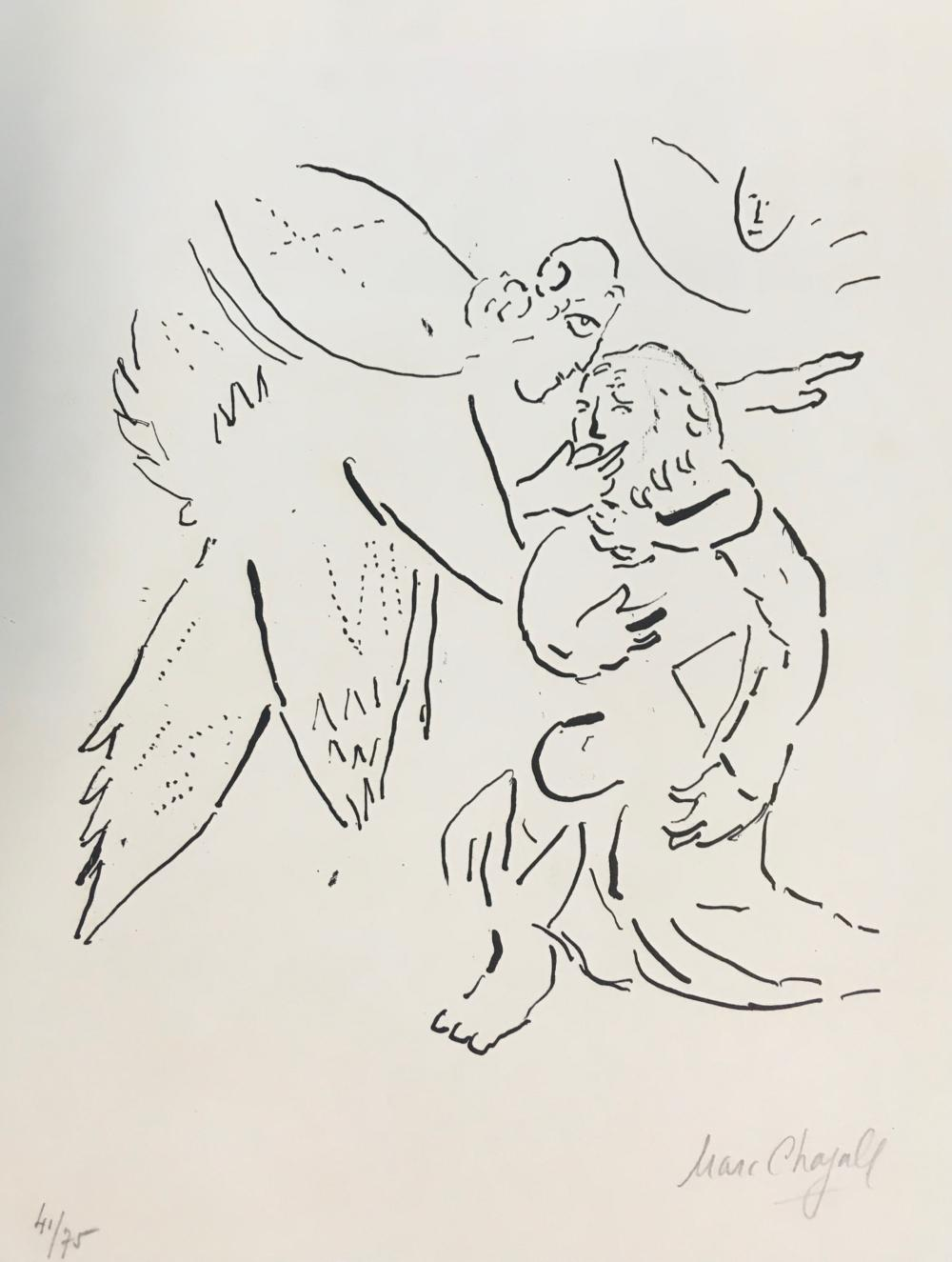 Marc Chagall - Isaiah Divinely Inspired