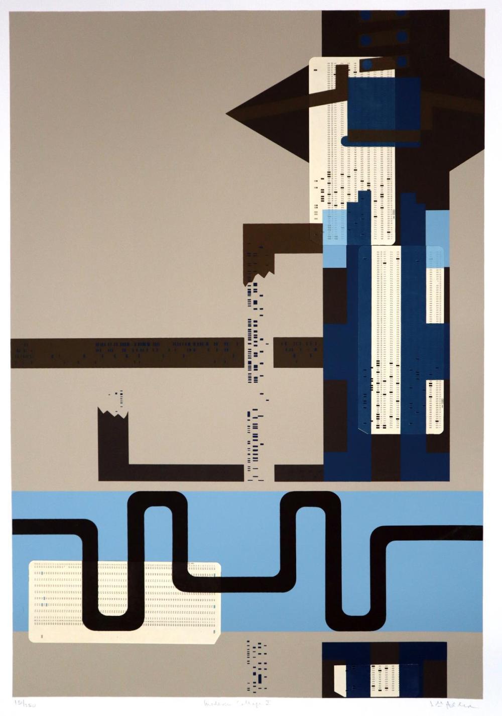 Lee Adler - Modern Collage1