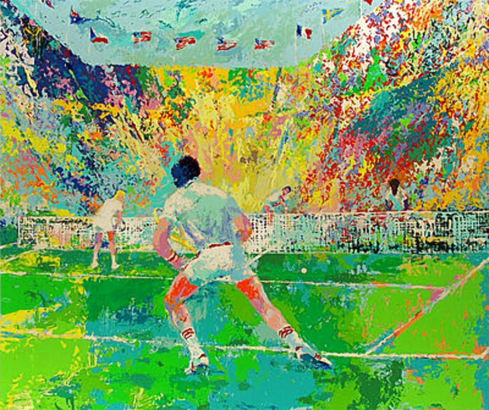 LeRoy Neiman - Stadium Tennis