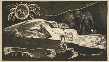 Paul Gauguin - Te Po (The God of Darkness)