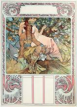 Alphonse Mucha - Manhood, from