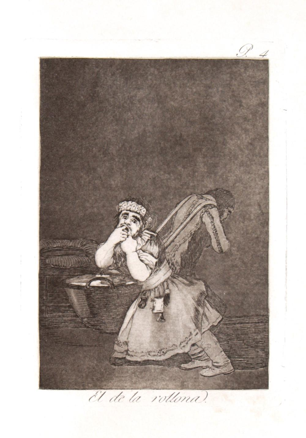 Goya Art Painting Lady On Couch