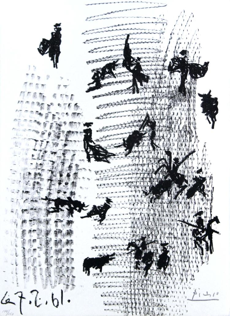 Toros y Toreros Frontispiece by Pablo Picasso