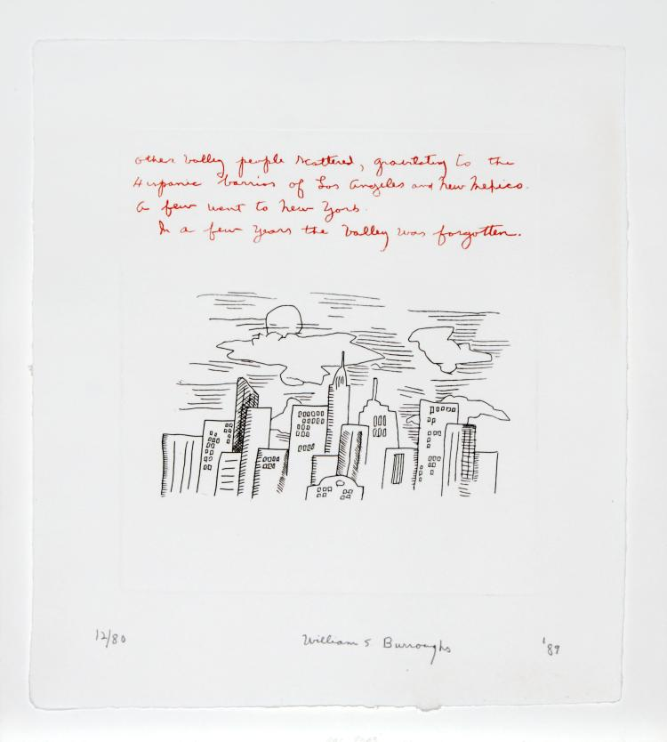 Keith Haring - Burrough's Poem from