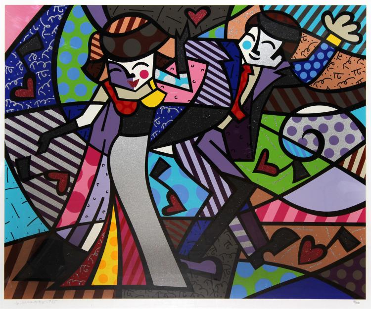 Night Out by Romero Britto