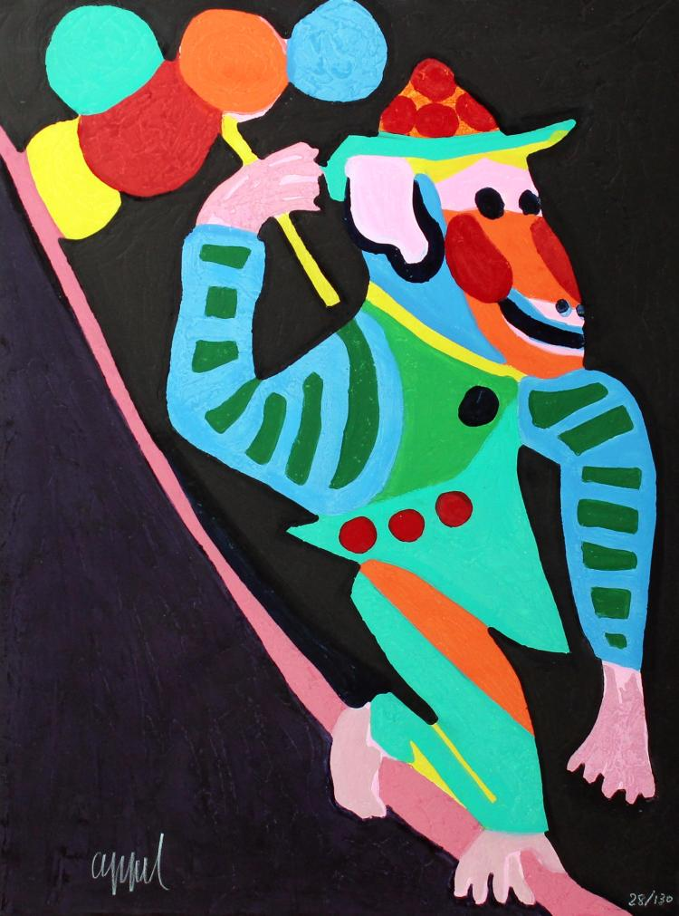 Karel Appel - Monkey (from Circus)