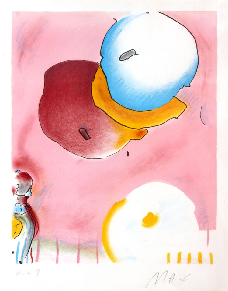 Peter Max - Two Floating