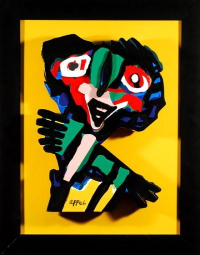Karel Appel - Face
