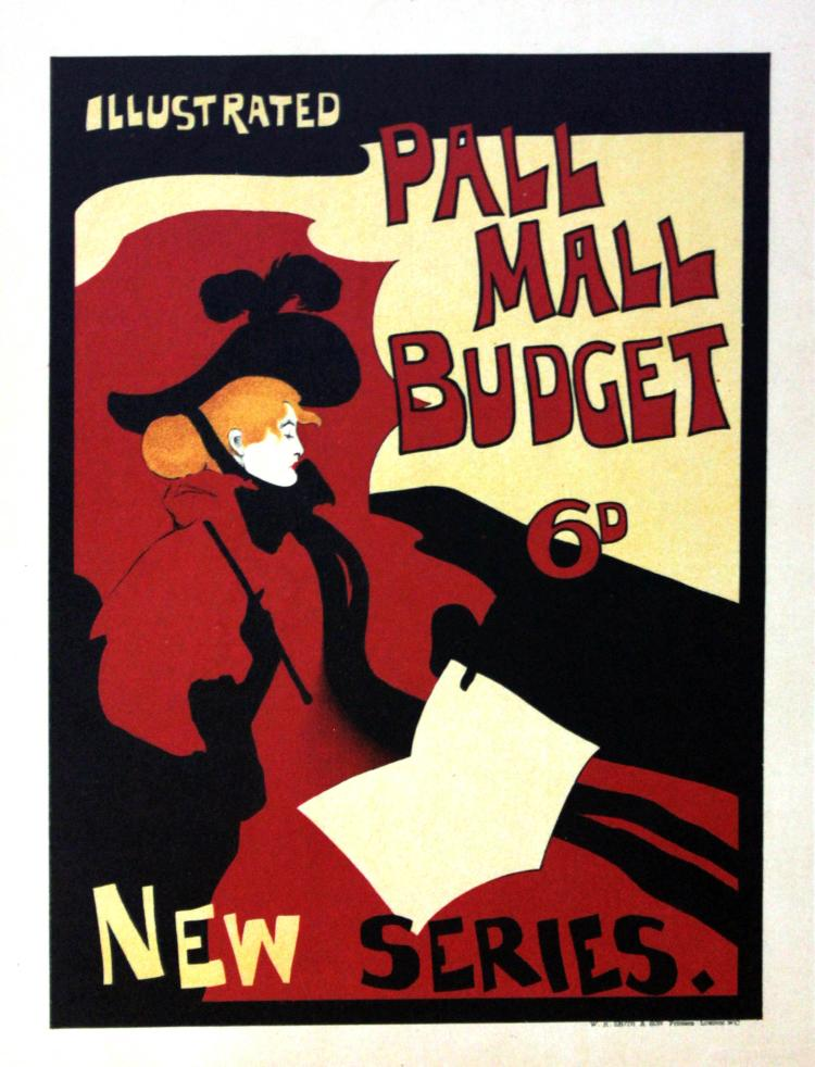 The Pall Mall Budget Vintage Poster