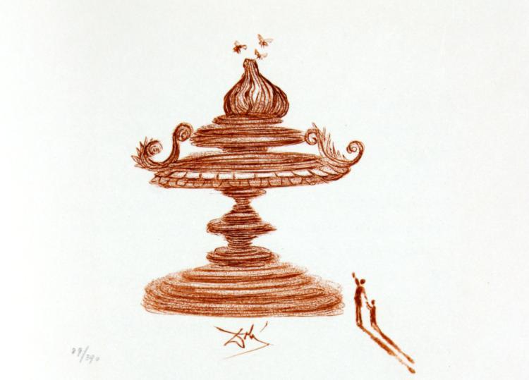 Salvador Dali - Casanova Illustration IV