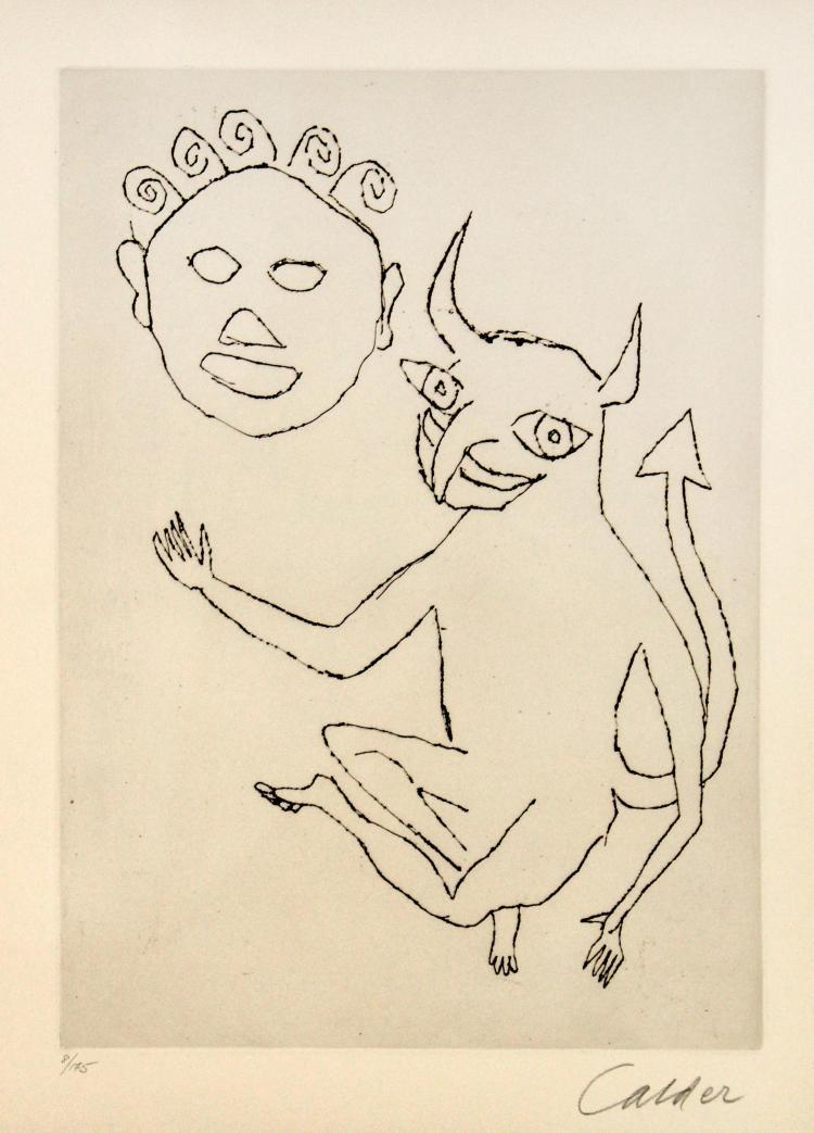 Alexander Calder - Santa Claus II