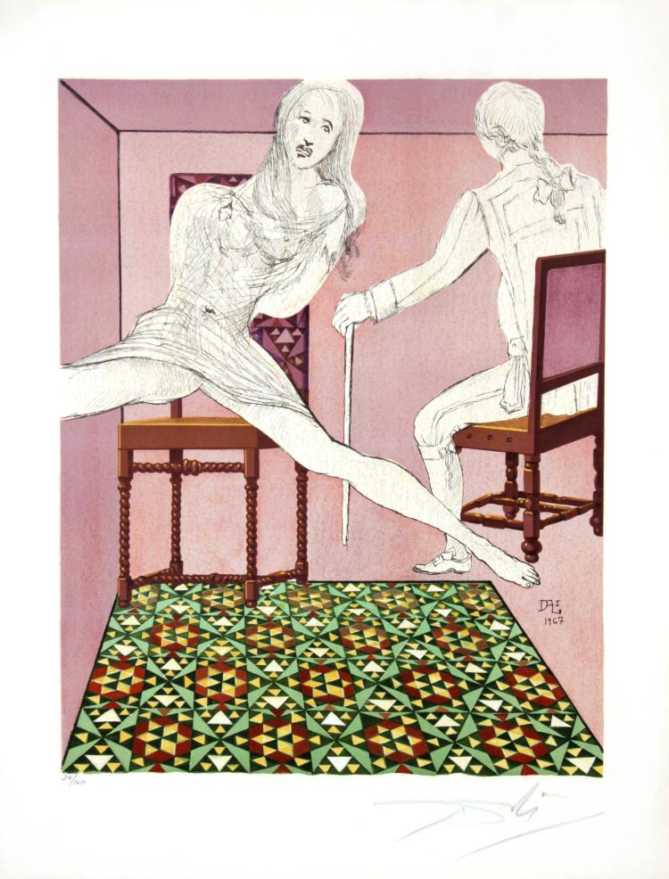 Salvador Dali - Marianne and the Chevalier