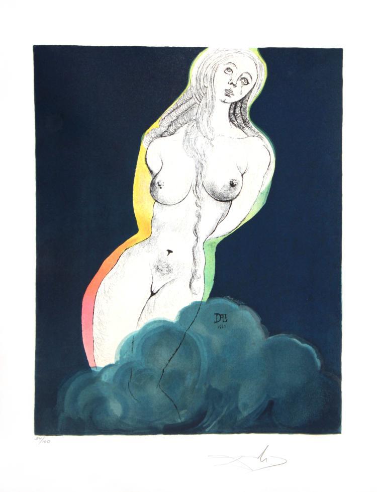 Salvador Dali - Allegory: Brave Cecile