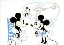 Walt Disney - Original Mickey Mouse Drawing