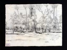 Ludovic-Rodo Pissarro - Untitled Sketch
