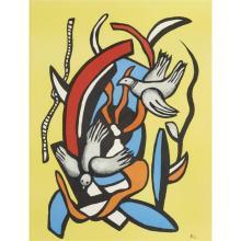 Fernand Leger - Two Birds