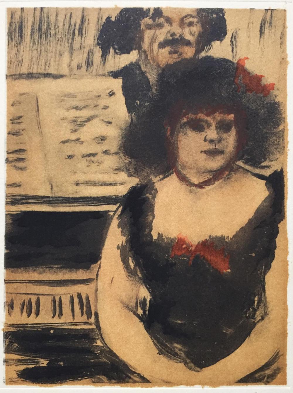 Edgar Degas (After) - La Pianiste el le Chanteur
