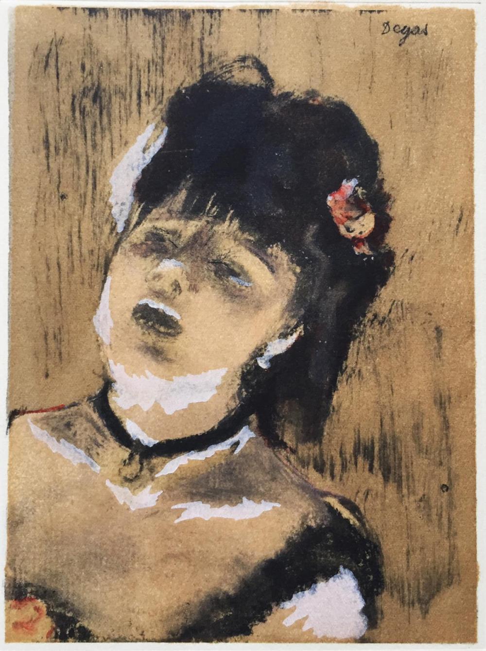 Edgar Degas (After) - La Chanteuse du Cafe Concert
