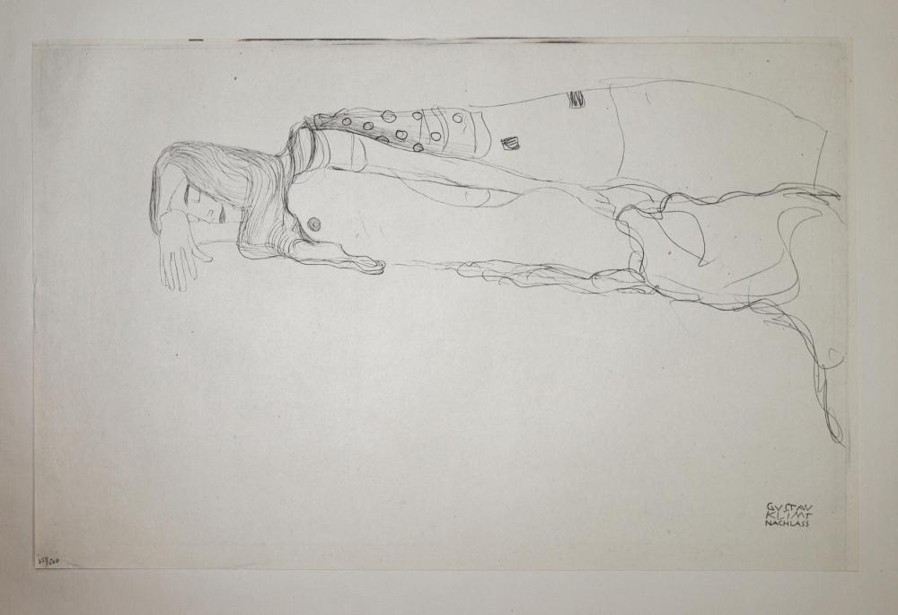 Gustav Klimt (After) - Untitled 3