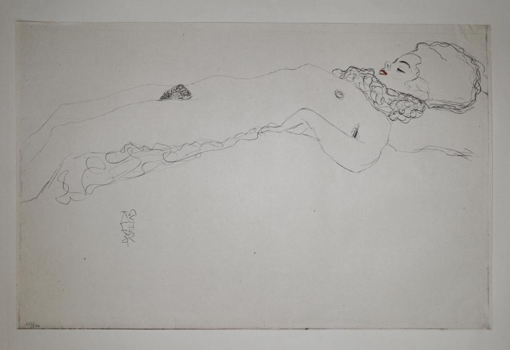 Gustav Klimt (After) - Untitled 4