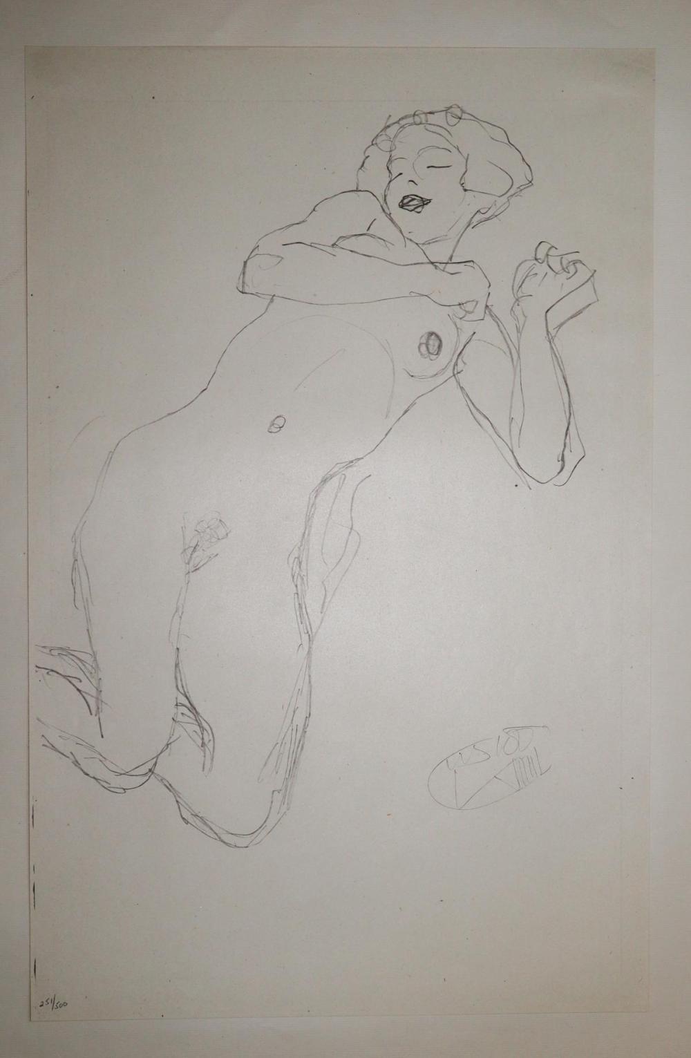 Gustav Klimt (After) - Untitled 5
