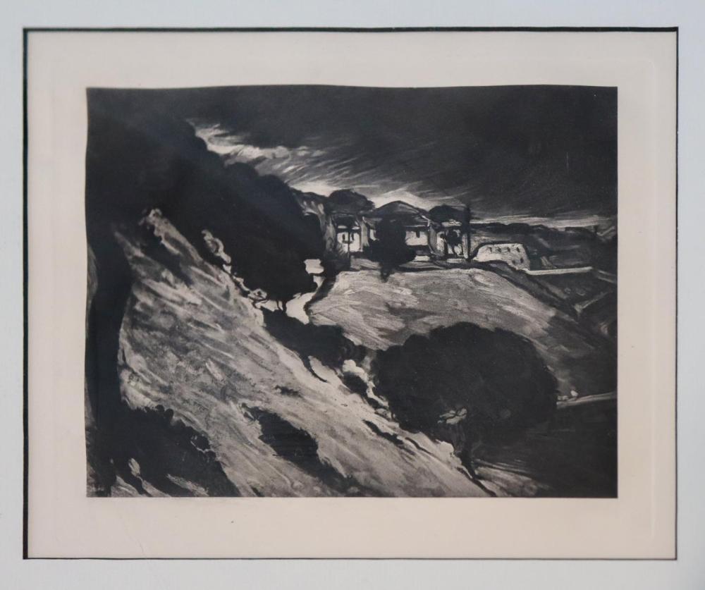 Paul Cezanne - La Toits Rouges