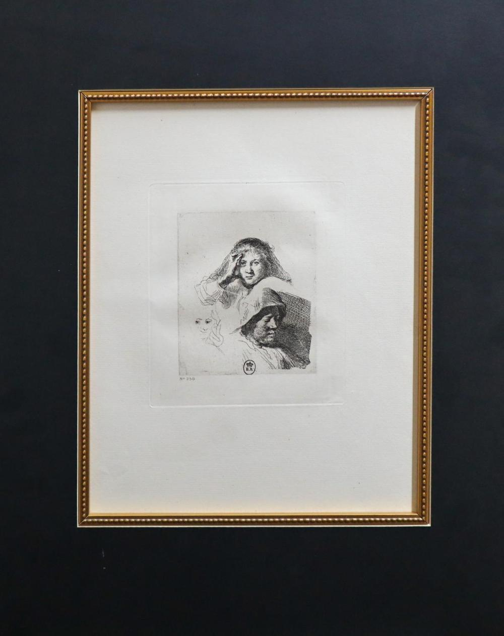 Rembrandt van Rijn (after) - Untitled