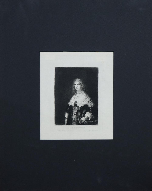 Rembrandt van Rijn (after) - La Femme D'Utrecht