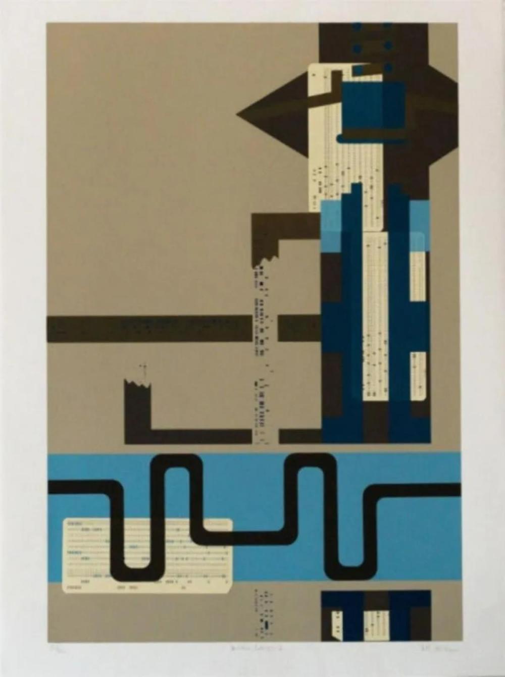 Lee Adler - Modern Collage 1