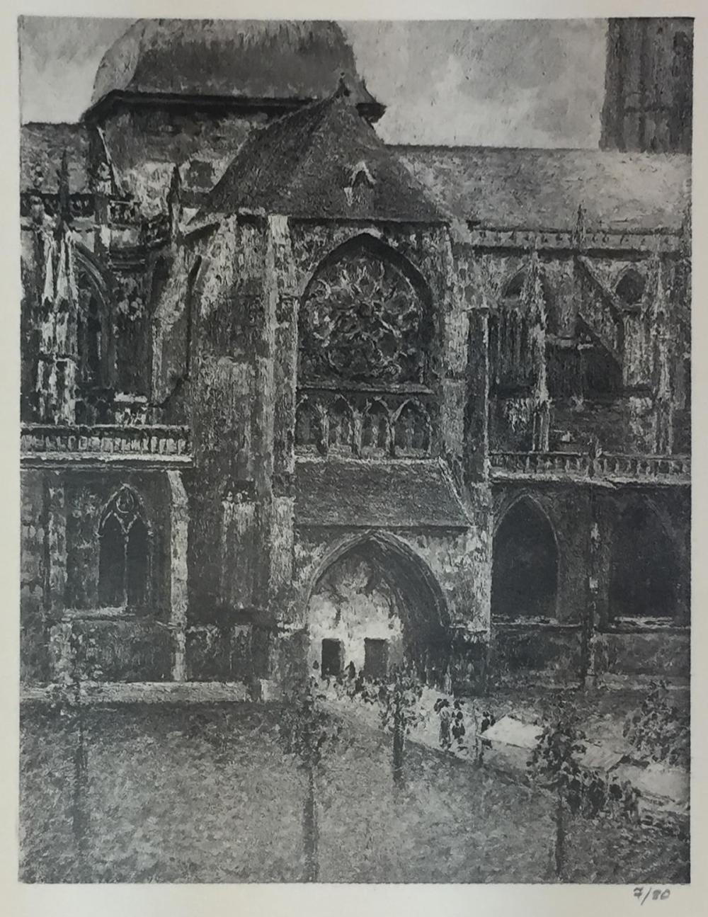 Camille Pissarro (After) - Portail de L'Eglise St