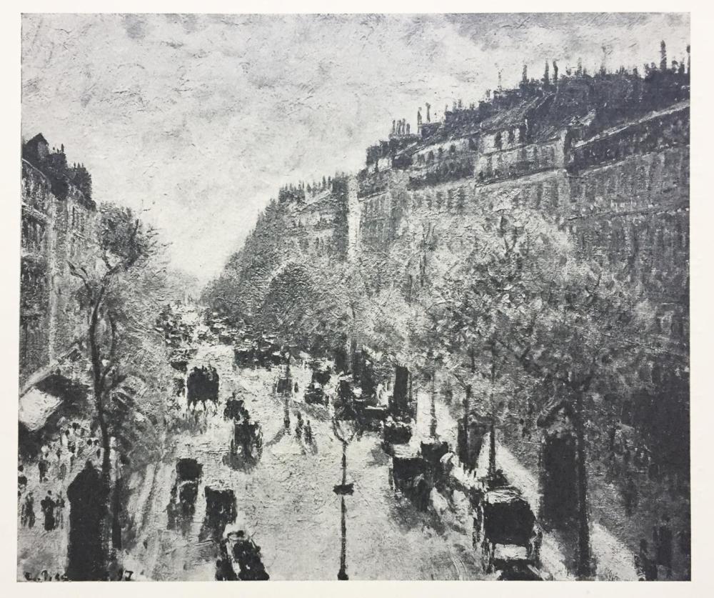 Camille Pissarro (After) - Le Boulevard Montmartre