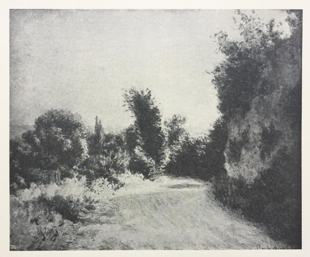 Claude Monet (After) - Les Bosquet