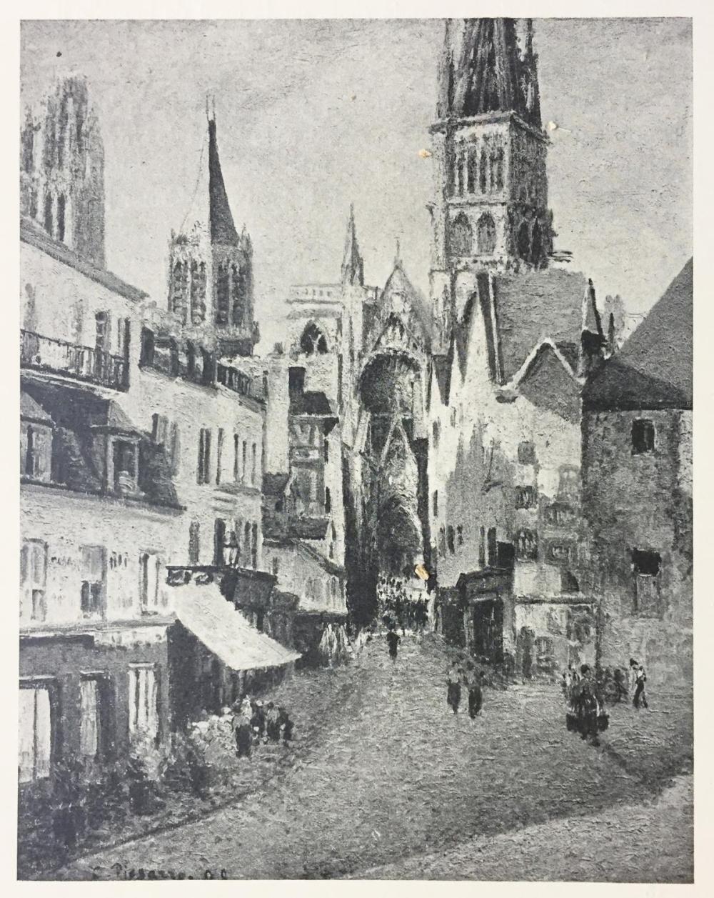 Camille Pissarro (After) - Vue Prise a Rouen