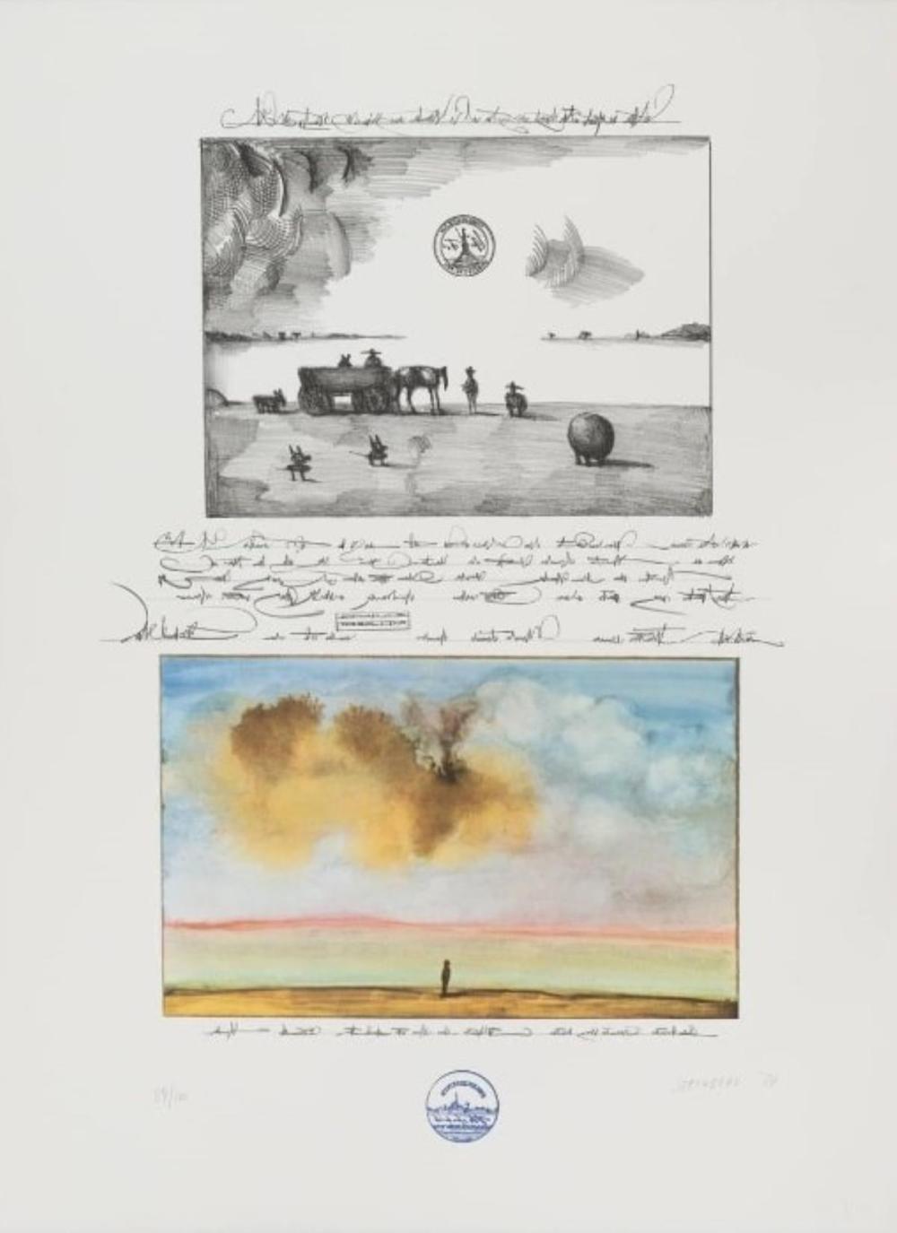 Saul Steinberg - Untitled