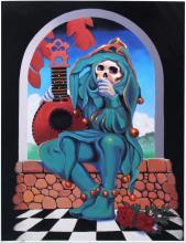 Grateful Dead Jester by Stanley Mouse & Alton Kelley