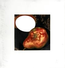 Donald Sultan - Two Pears, A Lemon and an Egg