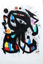 L'Etudiant by Joan Miro