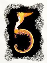 Number 5 by Erte