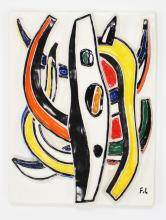 Fernand Leger - Abstract Composition