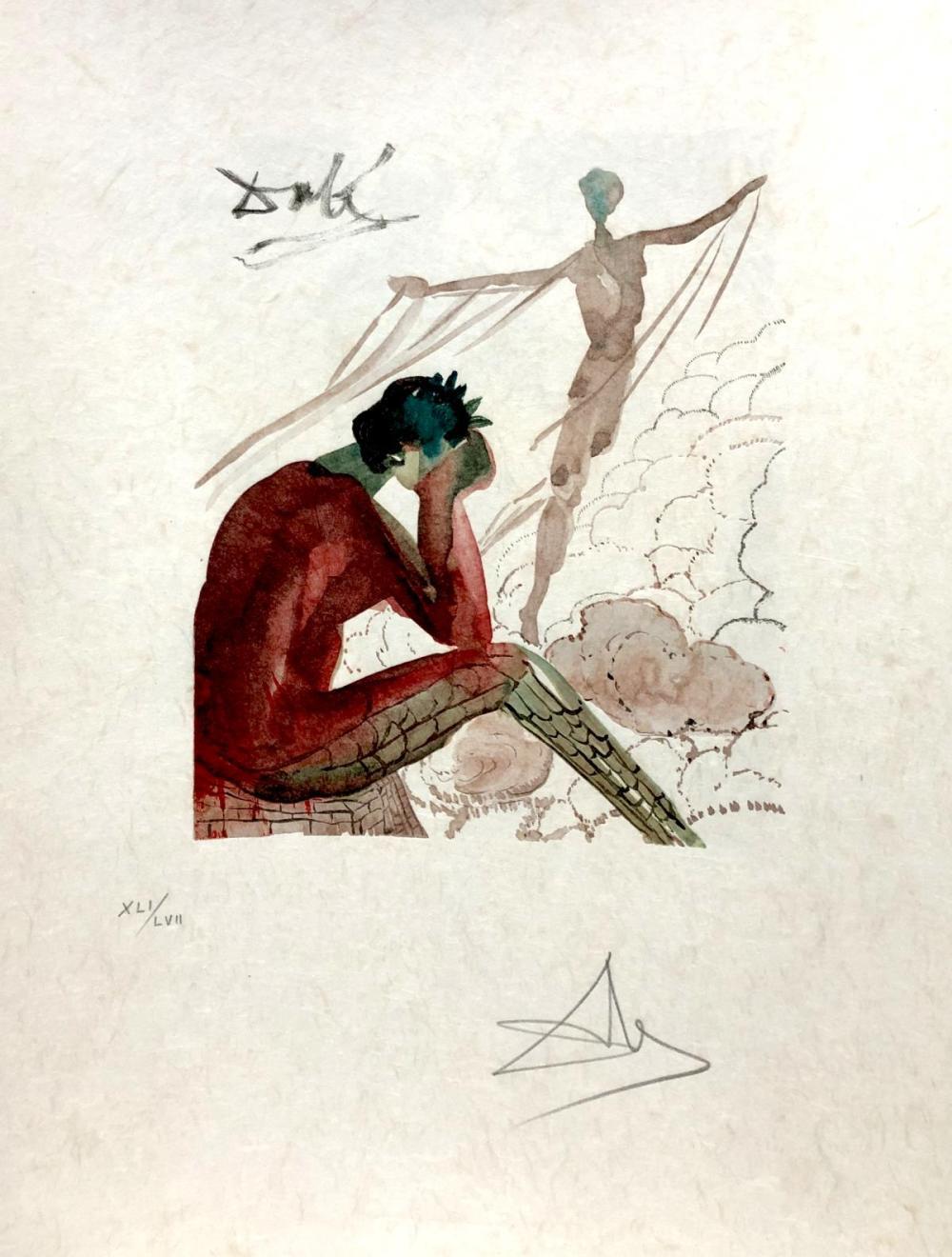 Salvador Dali - Le jeune Icare