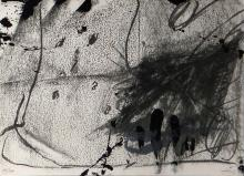 Antoni Tapies lithograph