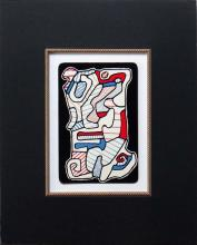 Jean Dubuffet one plate from