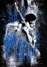 Hendrix by Mr Brainwash
