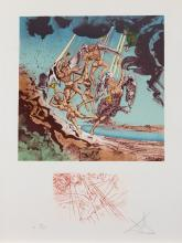 Return of Ulysses by Salvador Dali