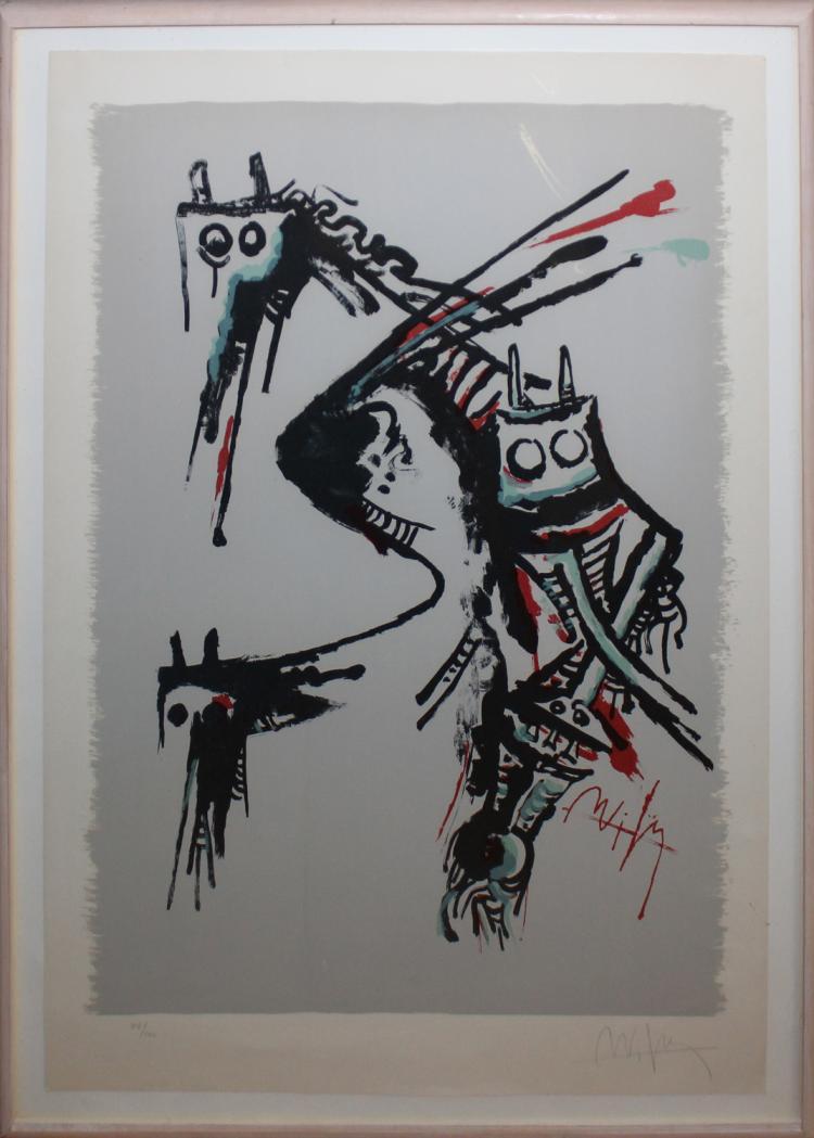 Wilfedo Lam Original Lithograph
