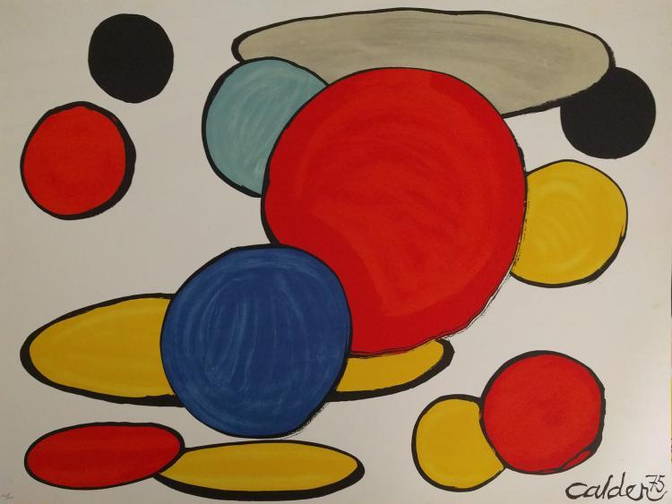 Alexander Calder, from