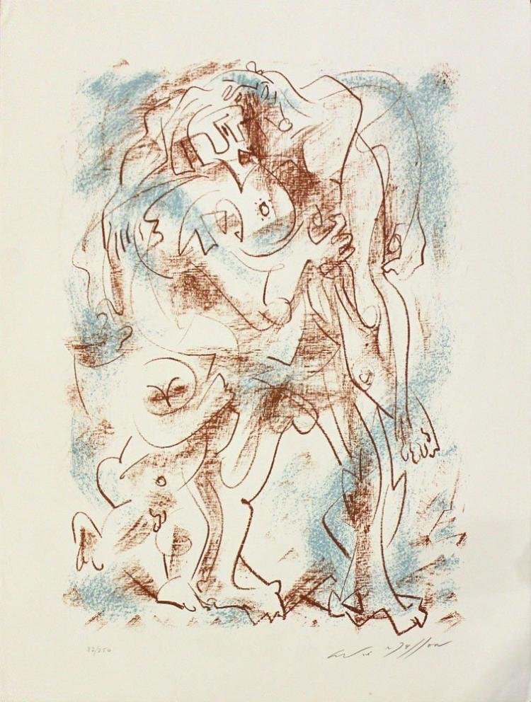 Andre Masson, one plate from