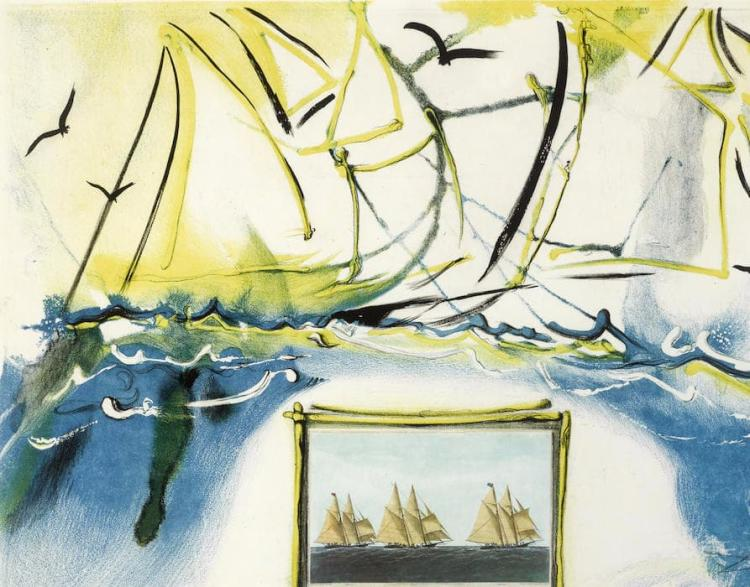 Salvador Dali, from